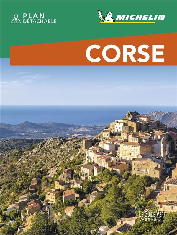 LE GUIDE VERT WEEKetGO  -  CORSE (EDITION 2021) COLLECTIF MICHELIN MICHELIN