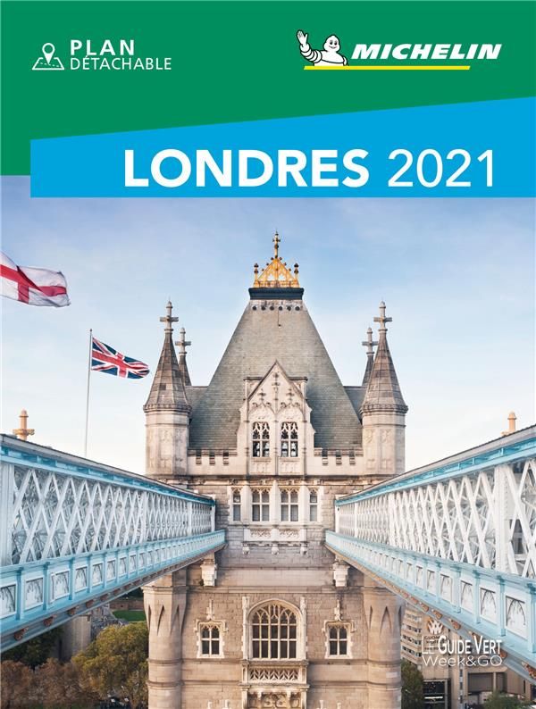 LE GUIDE VERT WEEKetGO  -  LONDRES (EDITION 2021) COLLECTIF MICHELIN MICHELIN