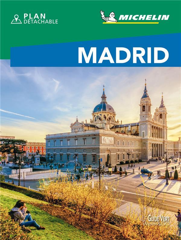 LE GUIDE VERT  -  MADRID (EDITION 2021) COLLECTIF MICHELIN MICHELIN
