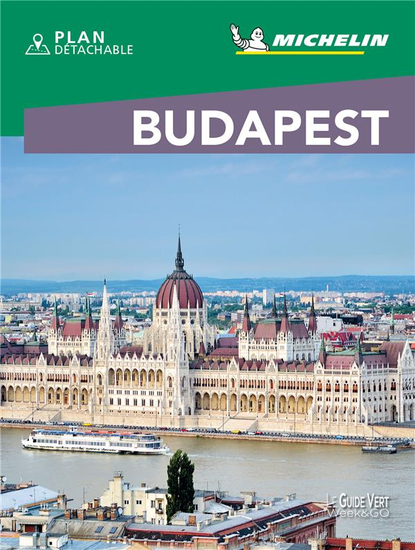 LE GUIDE VERT WEEK-END  -  BUDAPEST (EDITION 2021) COLLECTIF MICHELIN MICHELIN