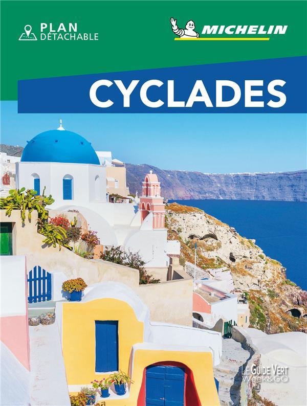 LE GUIDE VERT WEEKetGO  -  CYCLADES (EDITION 2021) COLLECTIF MICHELIN MICHELIN