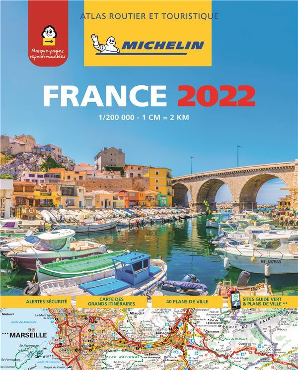 ATLAS ROUTIER FRANCE 2022 (A4- XXX MICHELIN