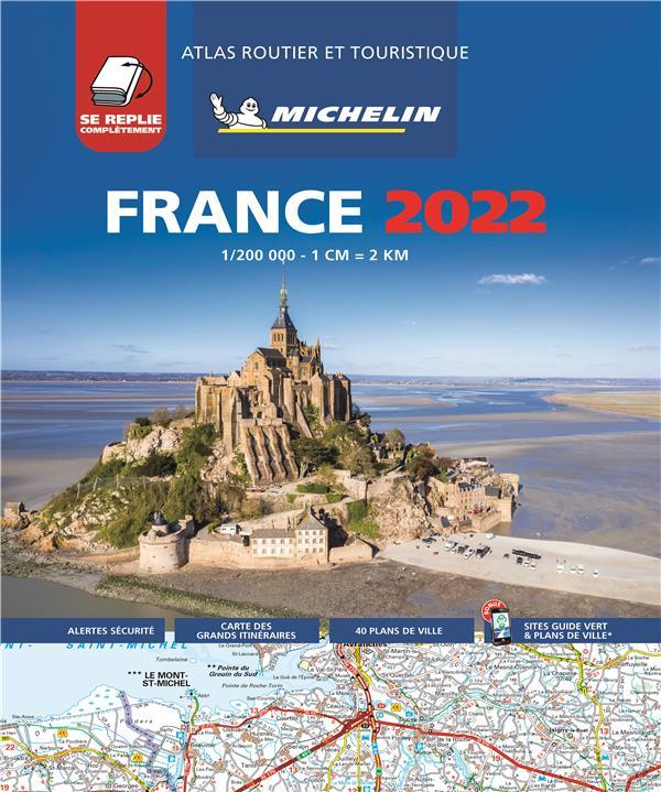 ATLAS ROUTIER FRANCE 2022 - TO XXX MICHELIN