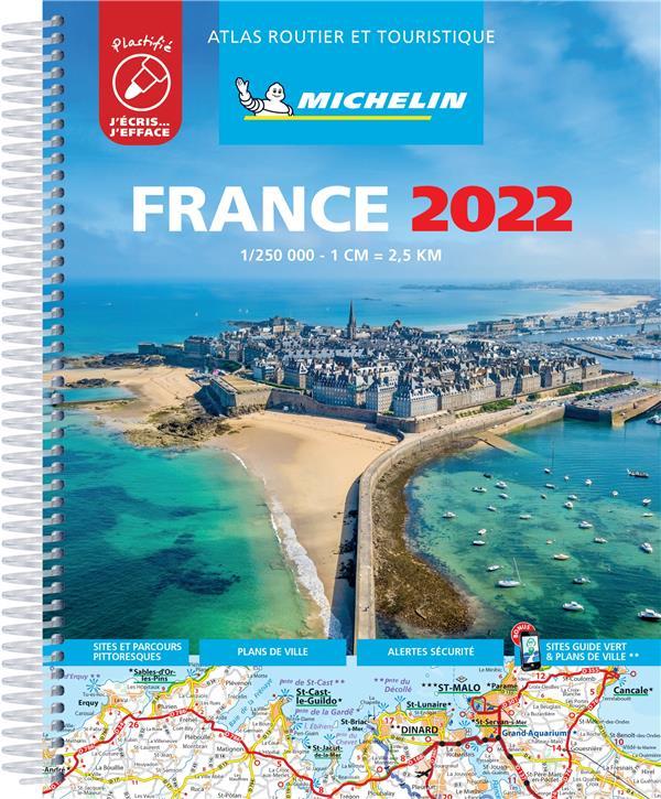 ATLAS ROUTIER FRANCE 2022 PLAS XXX MICHELIN