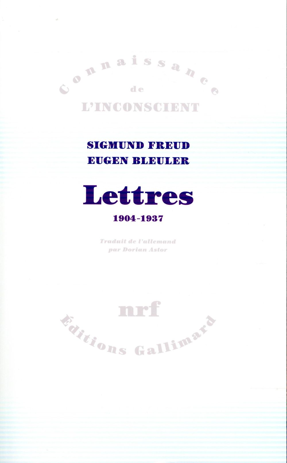 LETTRES - (1904-1937)