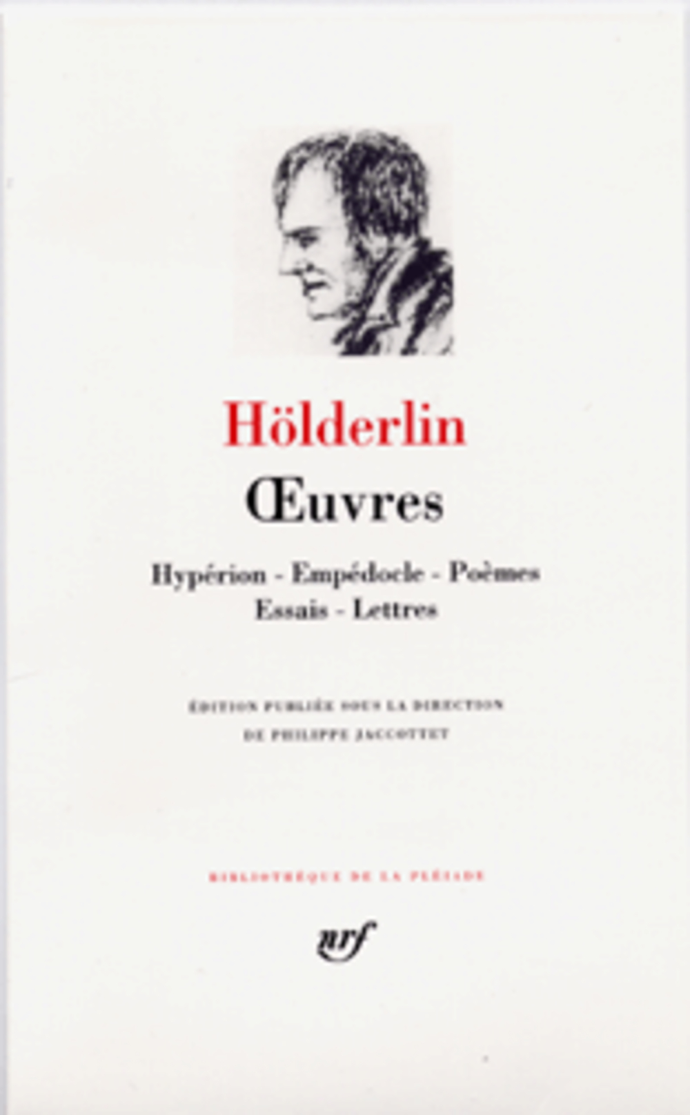 HOLDERLIN FRIED - OEUVRES