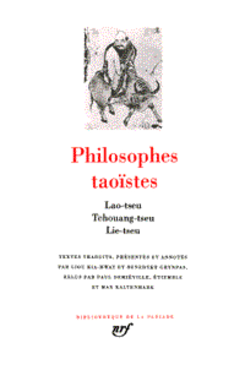 COLLECTIF - PHILOSOPHES TAOISTES (TOME 1)