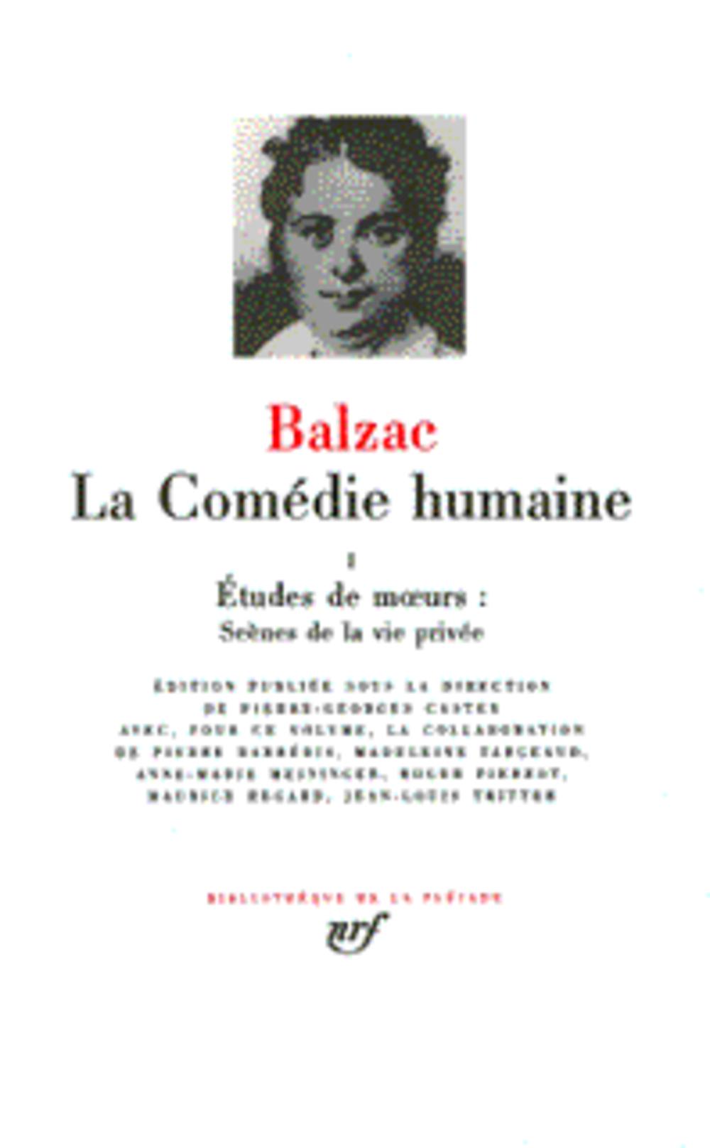 LA COMEDIE HUMAINE T.2 BALZAC HONORE DE GALLIMARD
