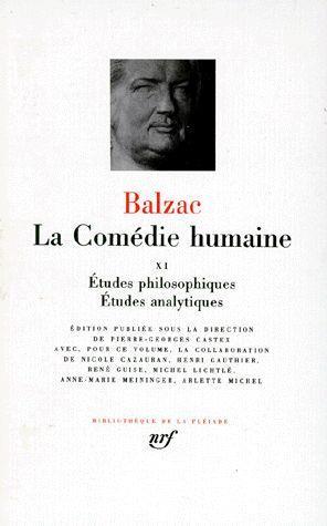 LA COMEDIE HUMAINE (TOME 11) BALZAC HONORE DE GALLIMARD