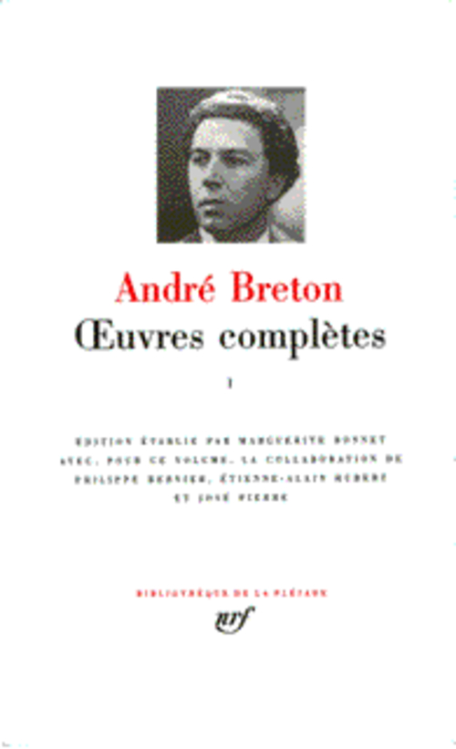 BRETON OEUVRES COMPLETES 1 BRETON ANDRE GALLIMARD