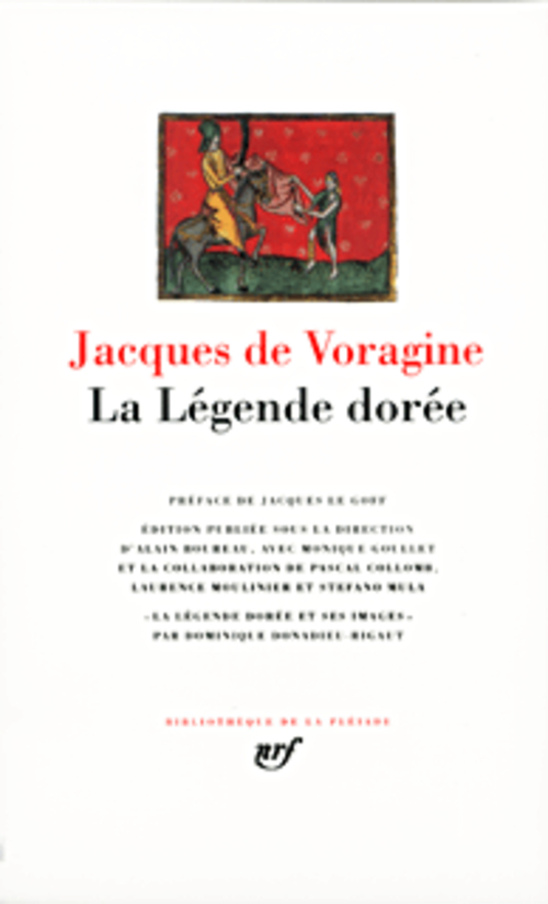 JACQUES DE VORA - LA LEGENDE DOREE
