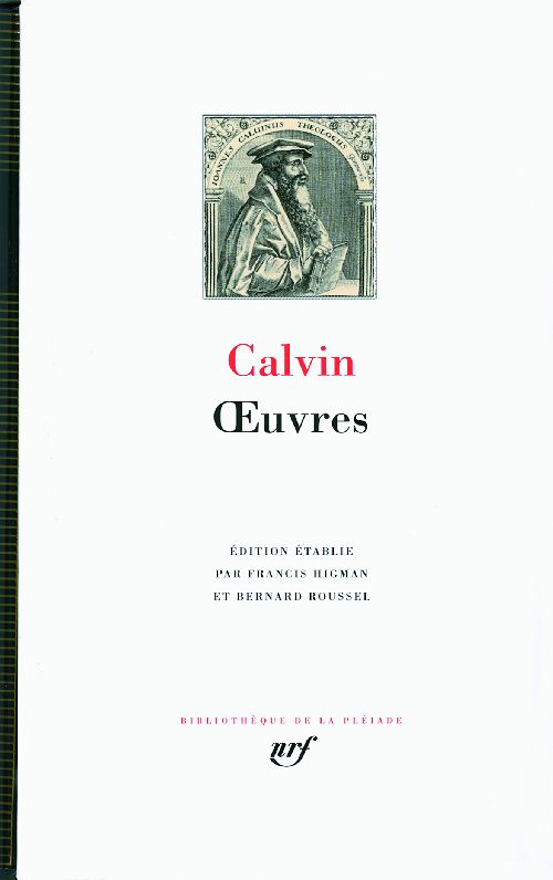 CALVIN JEAN - OEUVRES