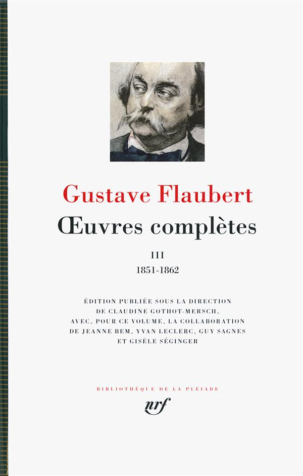 OEUVRES COMPLETES (TOME 3-1851-1862)