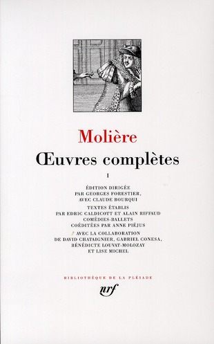 MOLIERE - OEUVRES COMPLETES (TOME 1)