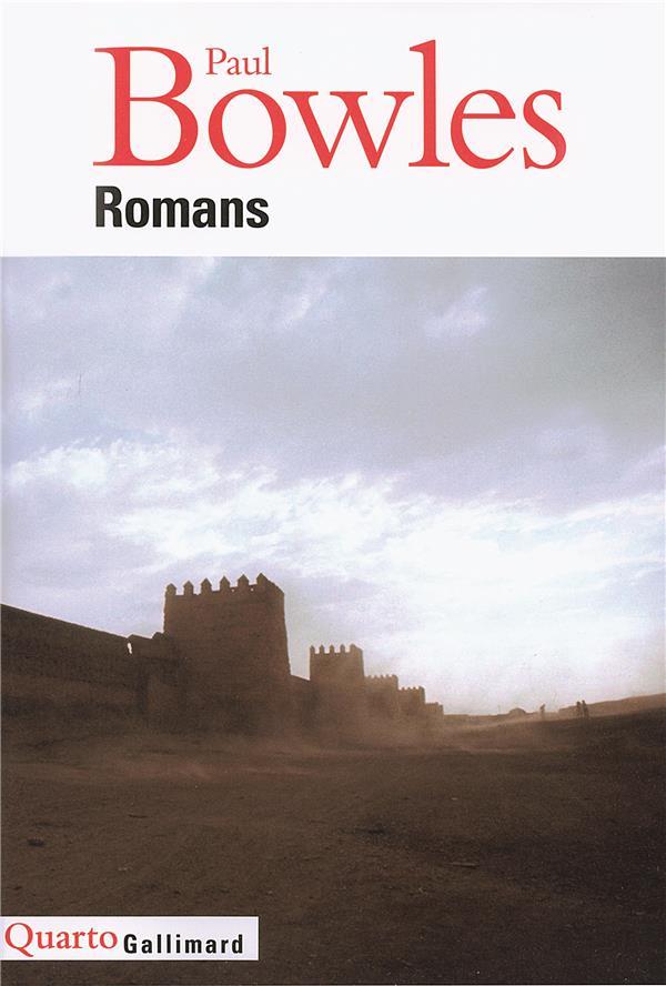 ROMANS BOWLES PAUL GALLIMARD
