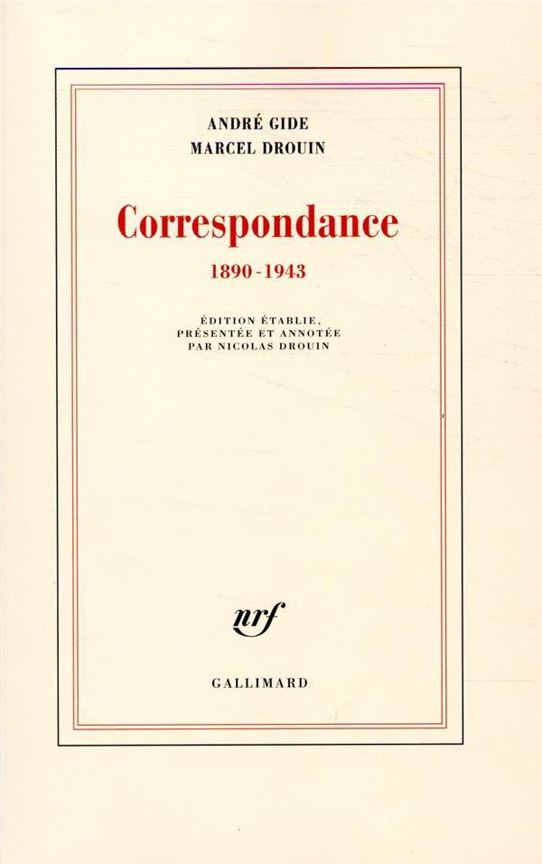 CORRESPONDANCE - (1890-1943)