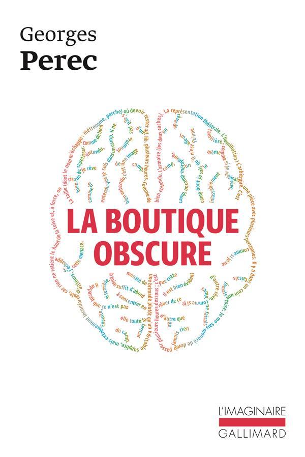 LA BOUTIQUE OBSCURE 124 REVES