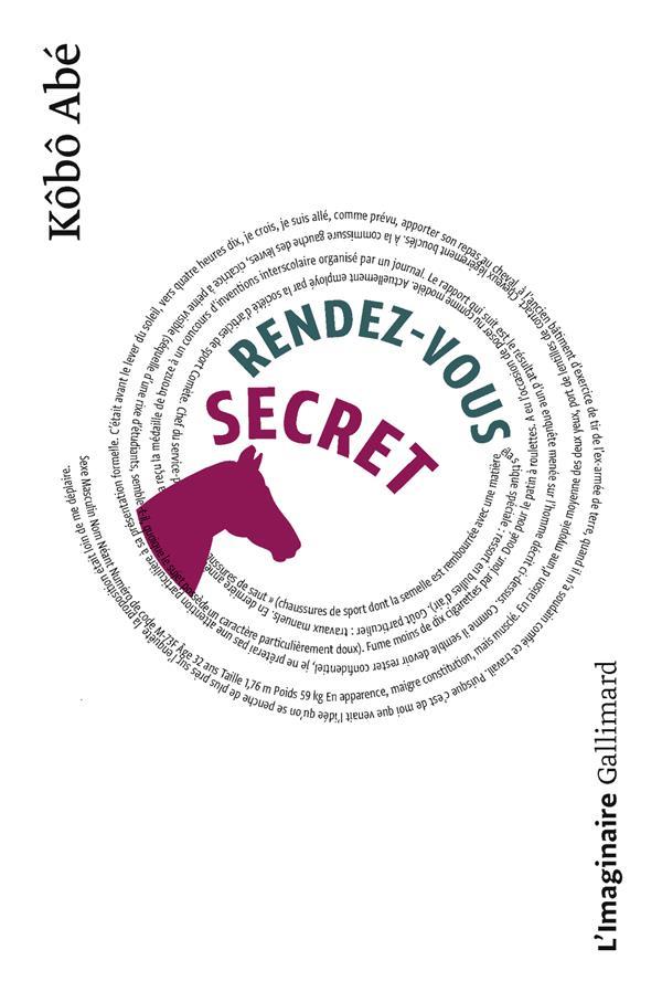 RENDEZ-VOUS SECRET