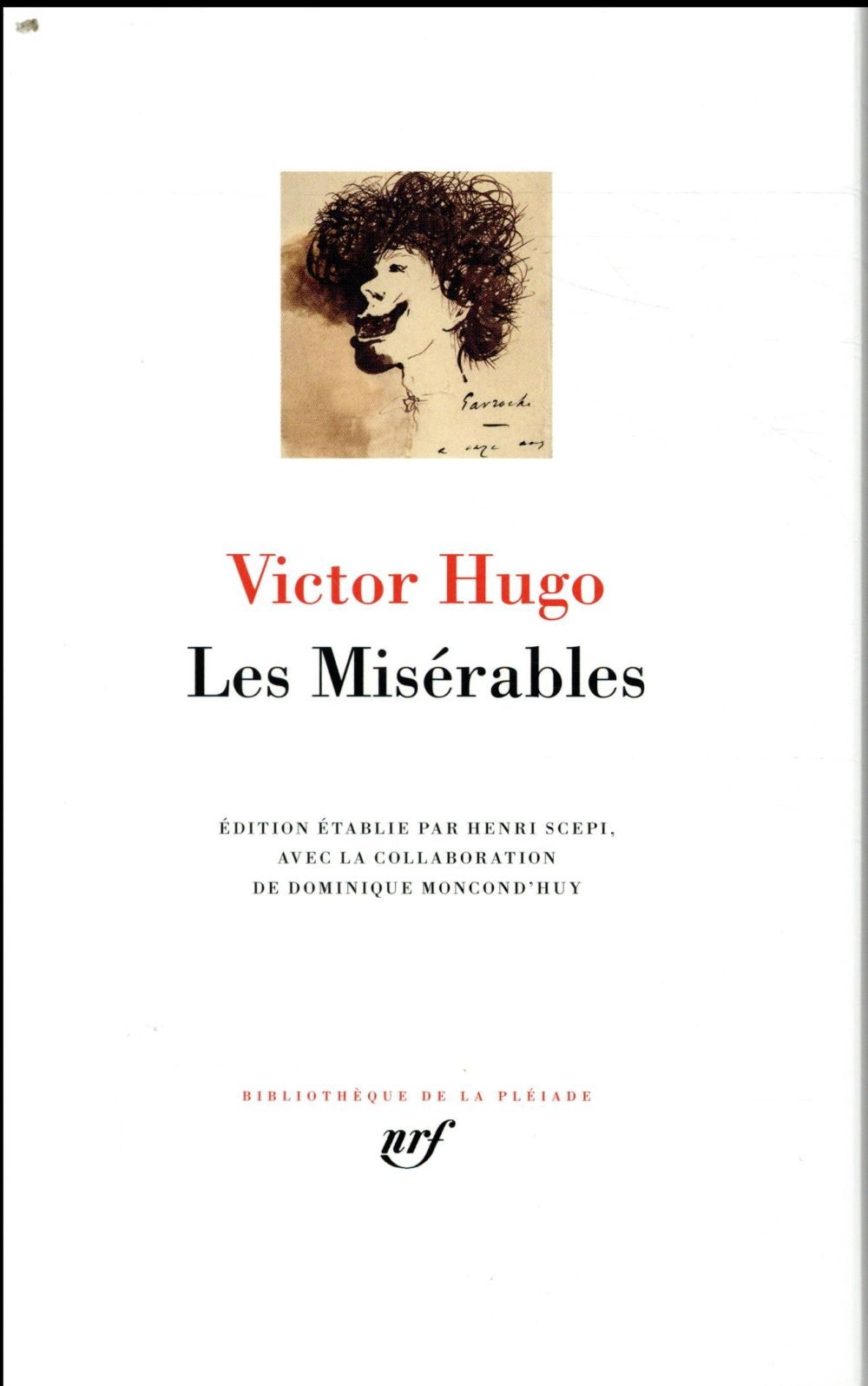LES MISERABLES HUGO VICTOR GALLIMARD