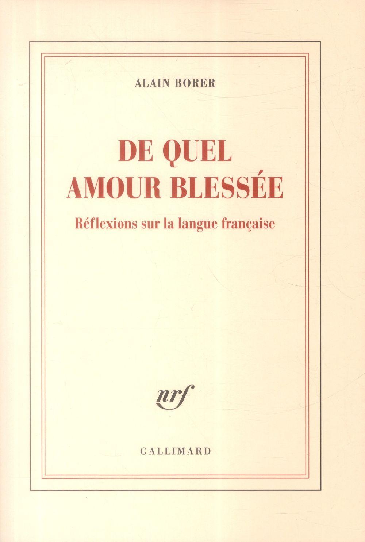 DE QUEL AMOUR BLESSEE (REFLEXI