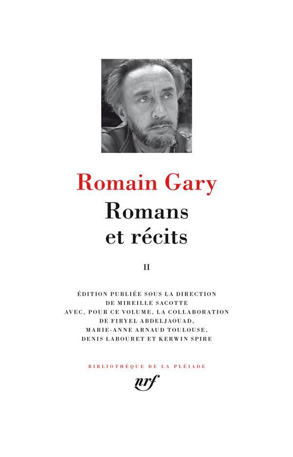 - ROMANS ET RECITS (TOME 2)