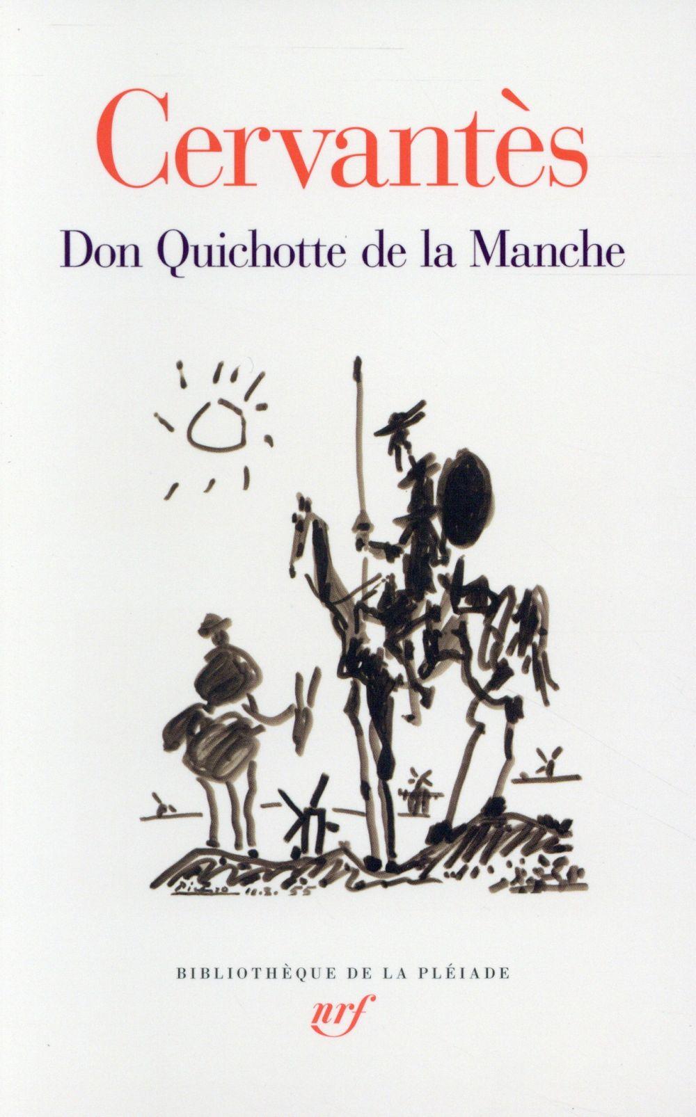 DON QUICHOTTE DE LA MANCHE CERVANTES/CANAVAGGIO Gallimard