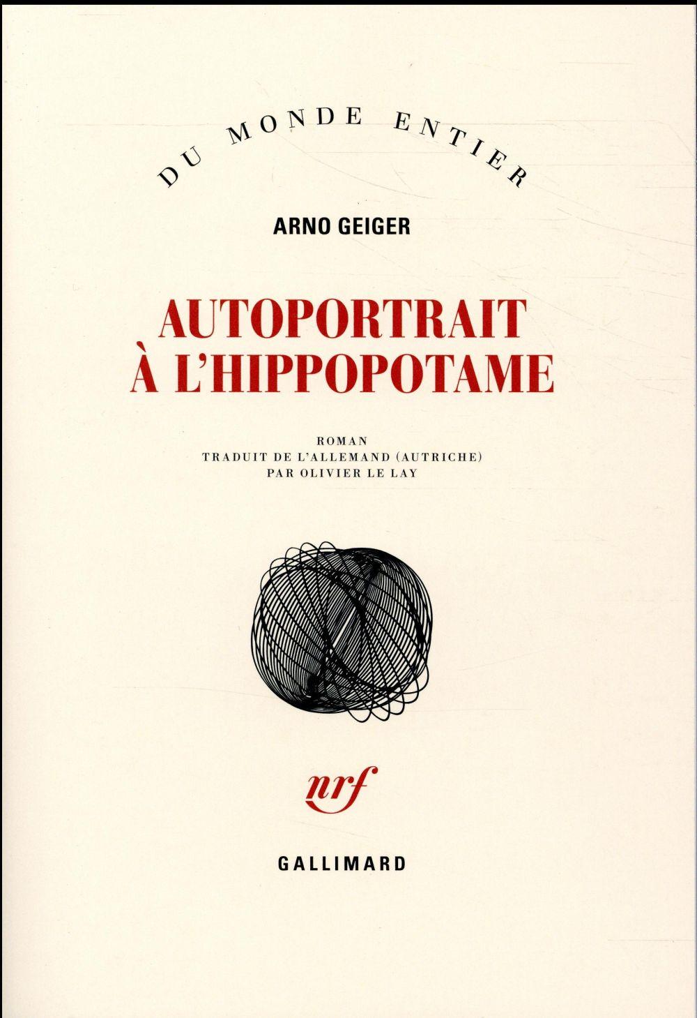 AUTOPORTRAIT A L'HIPPOPOTAME