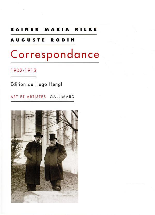 CORRESPONDANCE - (1902-1913) RILKE/RODIN GALLIMARD