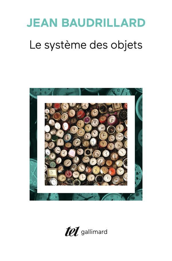 LE SYSTEME DES OBJETS