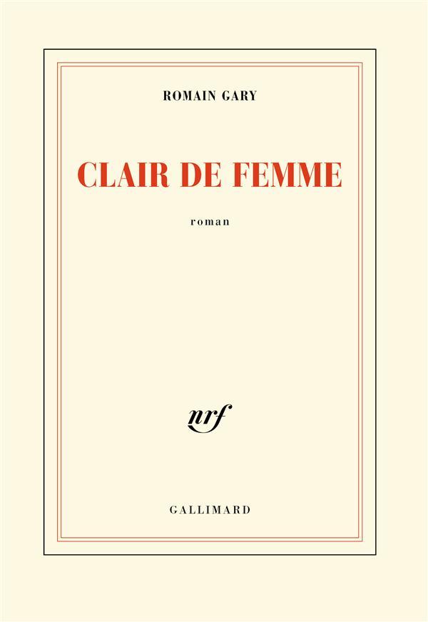 CLAIR DE FEMME -