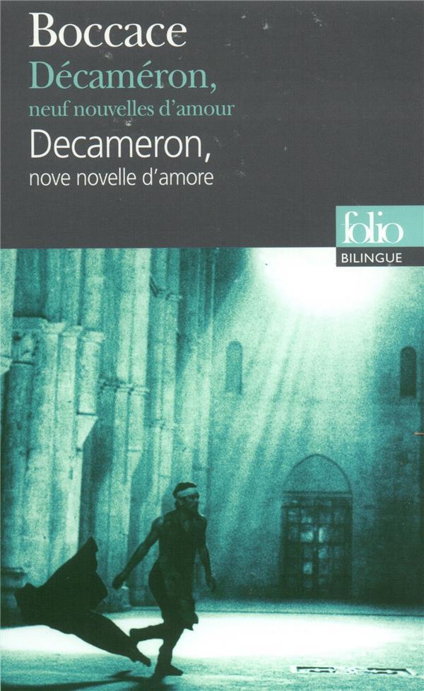 DECAMERON, NEUF NOUVELLES D'AMOURDECAMERON, NOVE NOVELLE D'AMORE