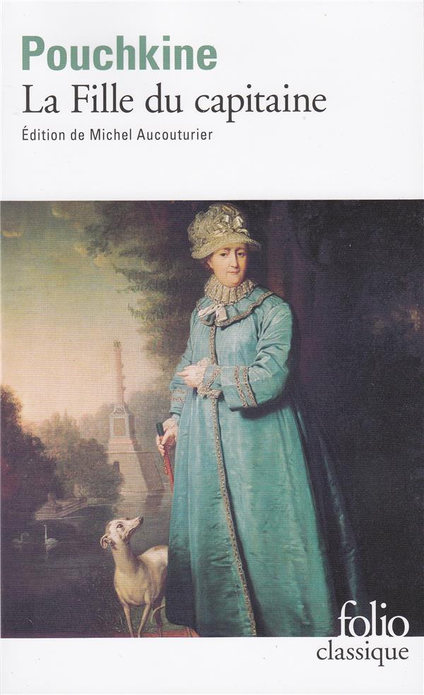 LA FILLE DU CAPITAINE POUCHKINE ALEXANDRE GALLIMARD