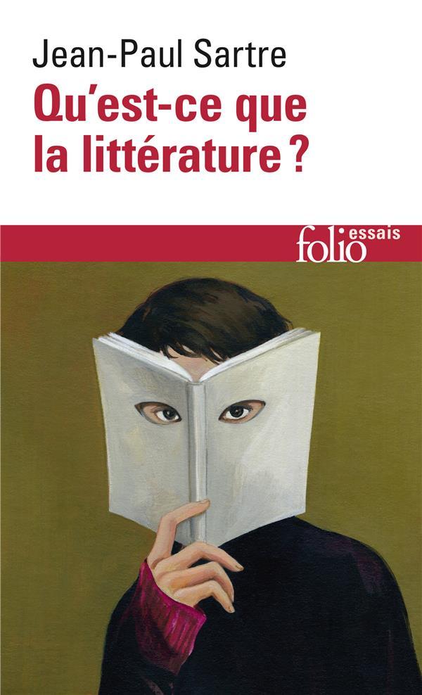 QU'EST-CE QUE LA LITTERATURE ? SARTRE JEAN-PAUL GALLIMARD