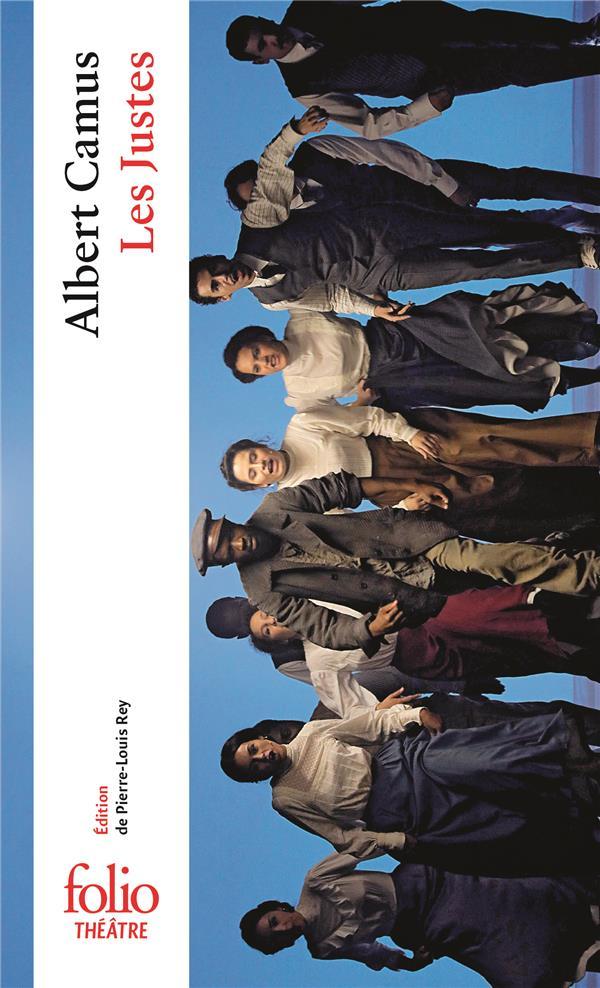 LES JUSTES - PIECE EN CINQ ACTES CAMUS ALBERT GALLIMARD