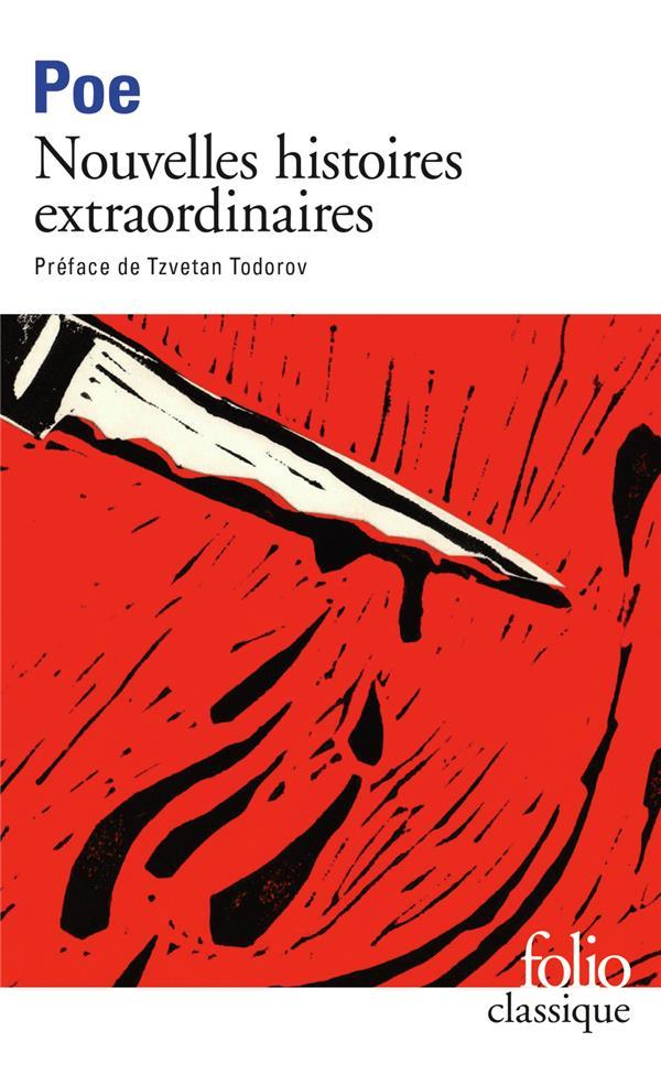 NOUVELLES HISTOIRES EXTRAORDINAIRES POE/TODOROV GALLIMARD