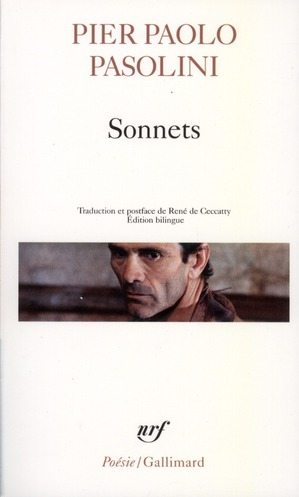 SONNETS PASOLINI PIER PAOLO GALLIMARD