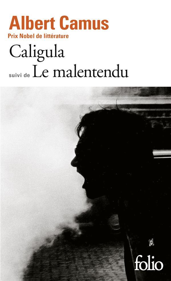CALIGULA  -  LE MALENTENDU CAMUS ALBERT GALLIMARD