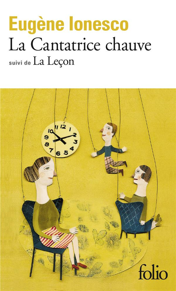 CANTATRICE CHAUVE / LA LECON