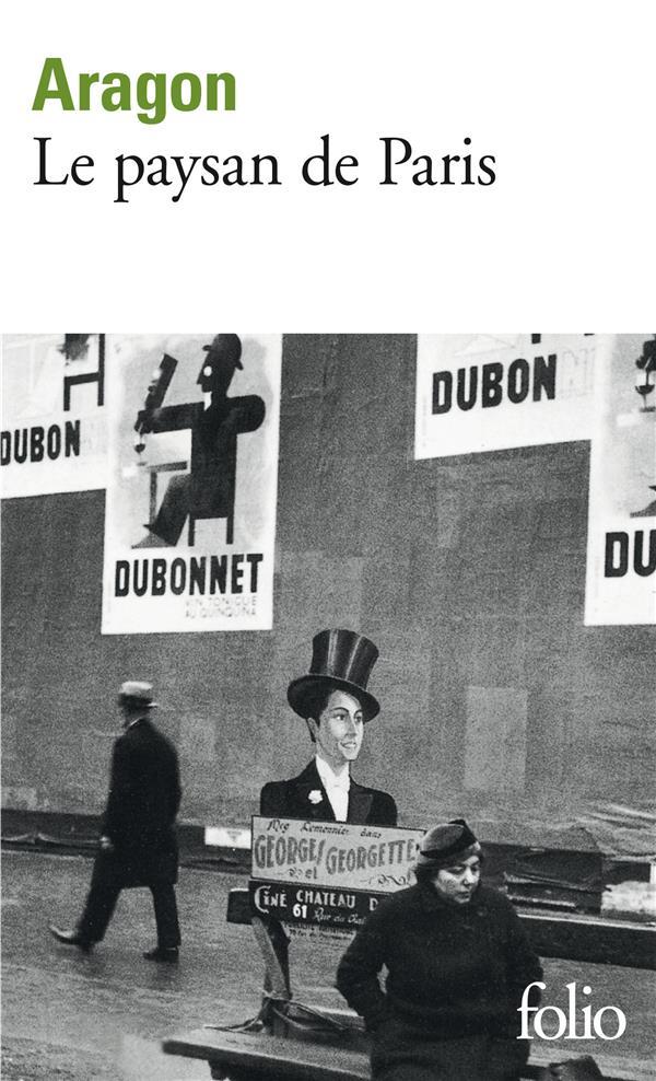 LE PAYSAN DE PARIS ARAGON LOUIS GALLIMARD