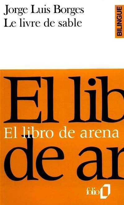 LE LIVRE DE SABLE EL LIBRO DE ARENA