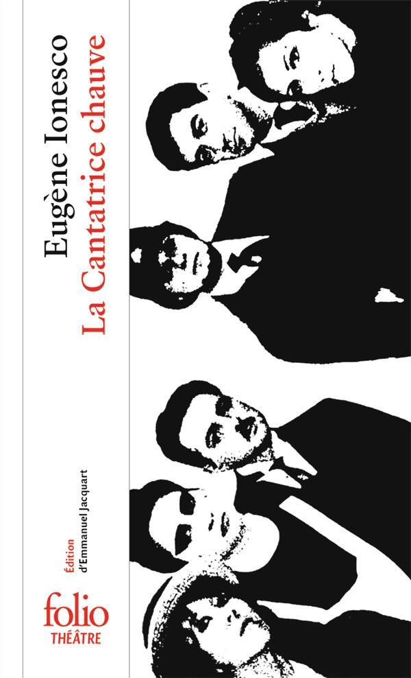 LA CANTATRICE CHAUVE IONESCO EUGENE GALLIMARD