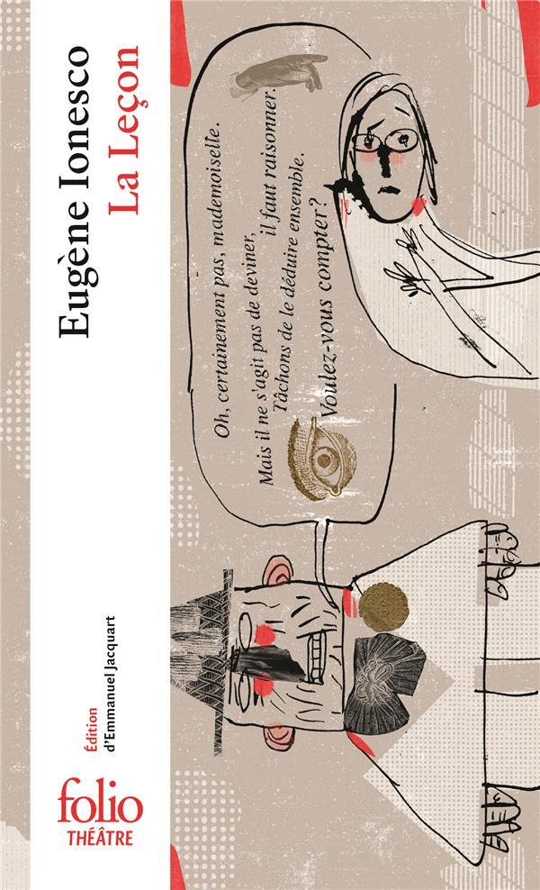 LA LECON IONESCO EUGENE GALLIMARD