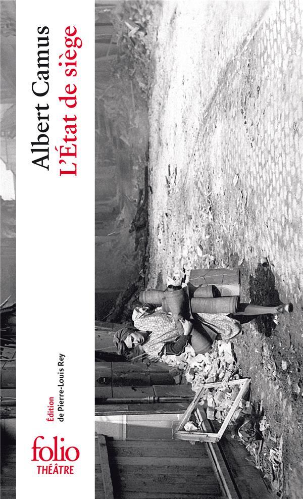 CAMUS, ALBERT - L'ETAT DE SIEGE