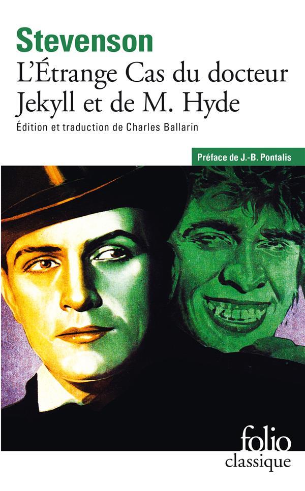 L'ETRANGE CAS DU DOCTEUR JEKYLL ET DE M. HYDE STEVENSON R L GALLIMARD