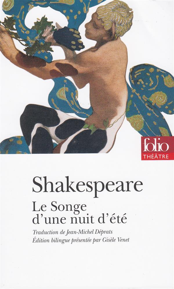 LE SONGE D'UNE NUIT D'ETE SHAKESPEARE WILLIAM GALLIMARD