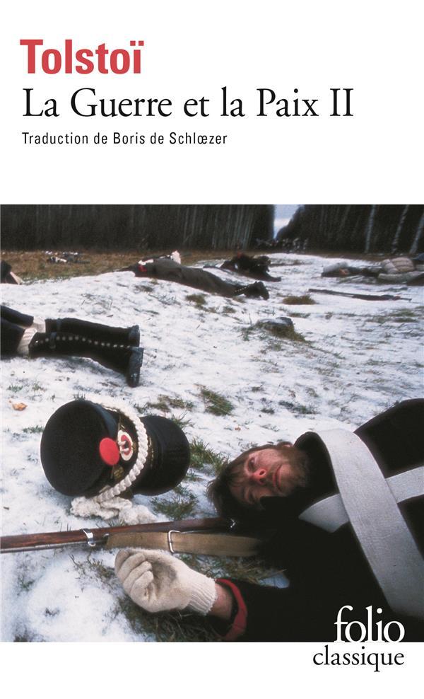 LA GUERRE ET LA PAIX T.2 TOLSTOI LEON GALLIMARD