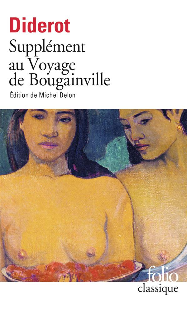 SUPPLEMENT AU VOYAGE DE BOUGAINVILLE DIDEROT/DENIS GALLIMARD