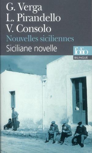 NOUVELLES SICILIENNES CONSOLO, VINCENZO GALLIMARD