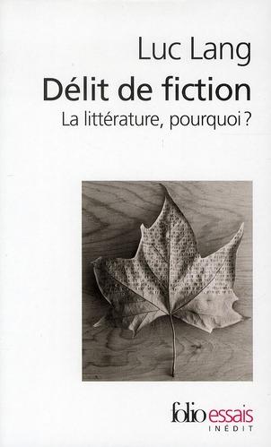 DELIT DE FICTION
