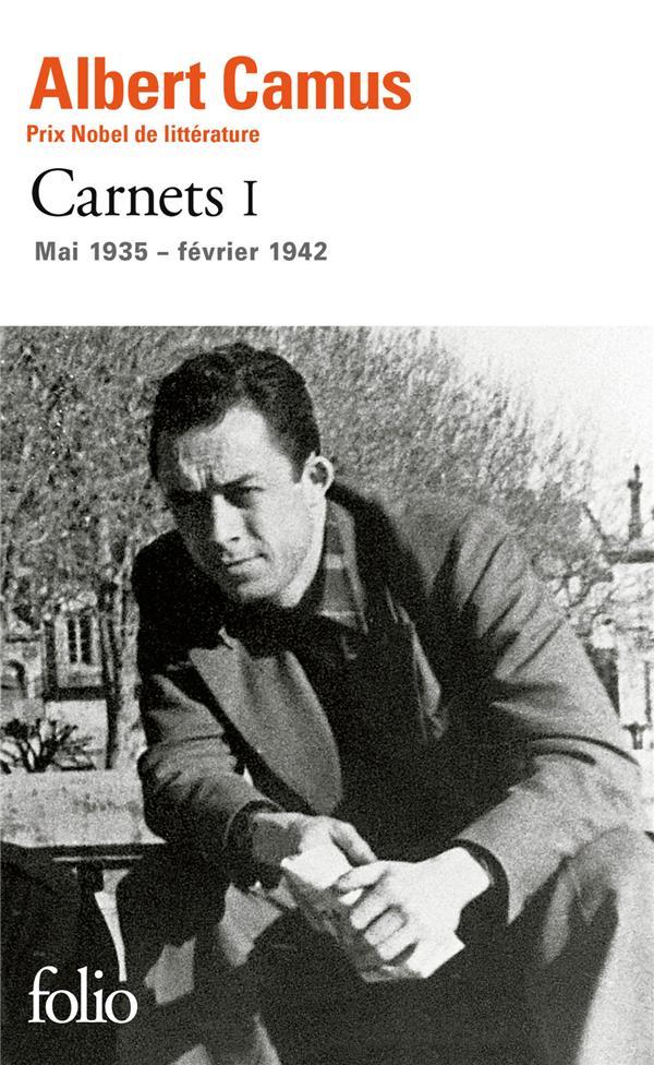 CARNETS T.1  -  MAI 1935 - FEVRIER 1942 CAMUS ALBERT Gallimard